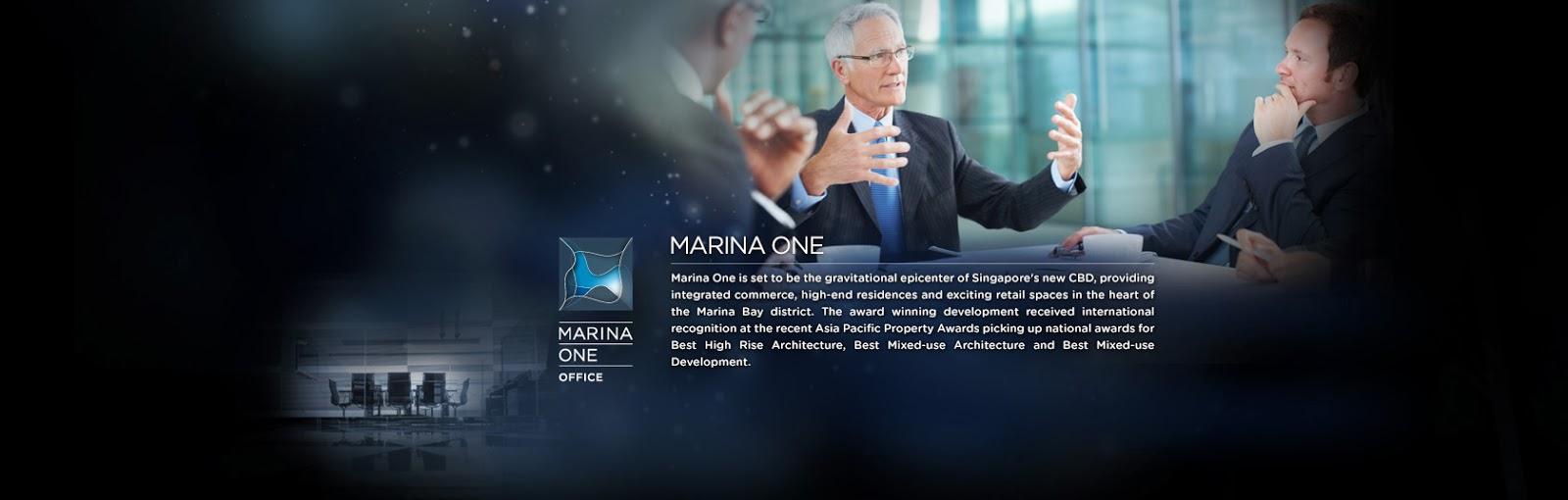 marina one office