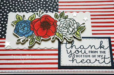 Heart's Delight Cards, Bloom & Grow, 4th of July, Independence Day, Stampin' Up!, 2019-2020 Annual Catalog