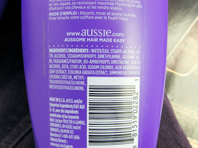 Увлажняющие шампунь и кондиционер от австралийской марки Aussie / блог A Piece of Beauty