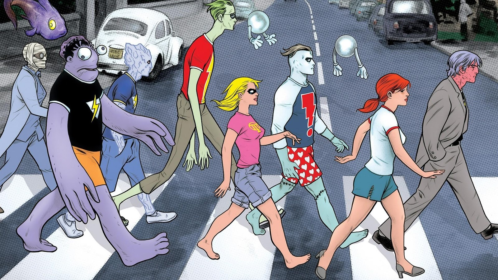 Abbey road comics photo madman wallpapers
