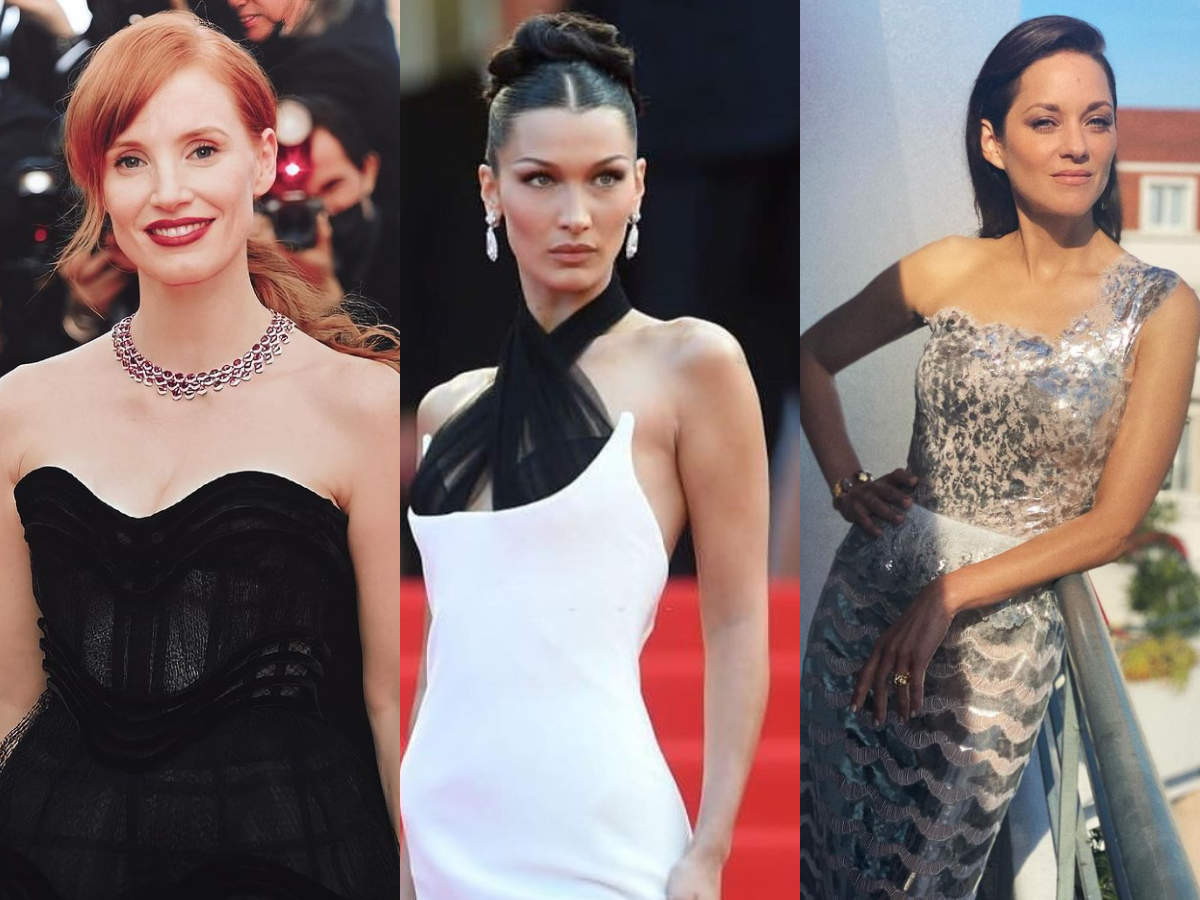 Celebrities' looks on the Cannes red carpet... Photo album  After the unfortunate cancellation of the Cannes Festival last year, the Cannes Film Festival returned in 2021, which kicked off its first activities on Tuesday, and with it all the glamor and magic usually associated with the annual celebration of fashion and films.