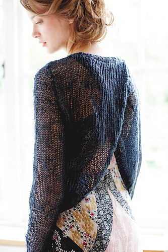 Palm Cove, knit by Dayan Knits, pattern by Lisa Richardson in Rowan Pure Linen