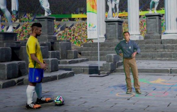 Nike pide a Globo recitificar el holograma de Neymar