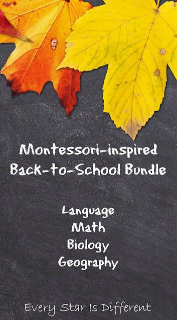 Montessori-inspired Back to School Bundle