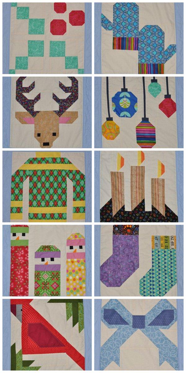 hve a jolly little christmas quilt along