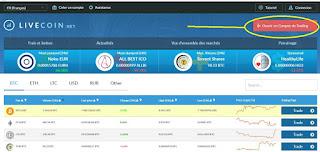 شرح منصة  Livecoin  و اخر التحديثات