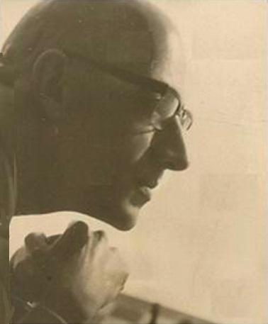 El ajedrecista Rafael Saborido Carré en 1950