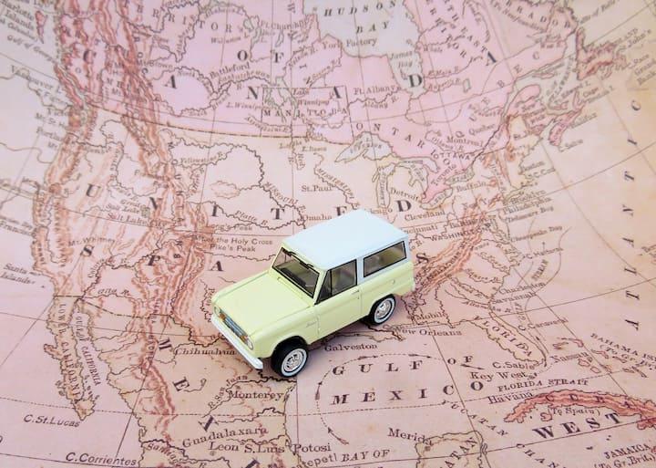 dicas para planejar uma viagem de carro
