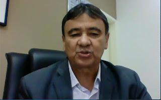Governador anuncia pacote de medidas e reduz salário do 1º escalão em 15%