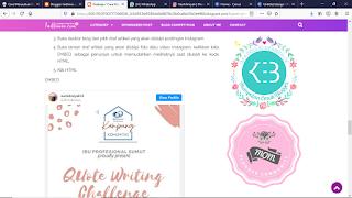 cara embed IG ke blog