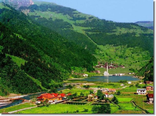 السياحة في قرية أوزنجول