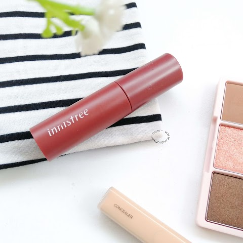 [REVIEW] Innisfree : Vivid Cotton Ink - #8 Dried Nude Tulip