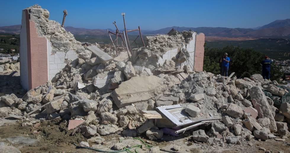 ΘΕΪΚΗ ΠΑΡΕΜΒΑΣΗ ΚΑΙ ΜΗΝΥΜΑ;;; Ο ναός που έγινε συντρίμμια από τον σεισμό στην Κρήτη, ΗΤΑΝ ΤΟ ΠΡΩΤΟ ΕΜΒΟΛΙΑΣΤΙΚΟ ΚΕΝΤΡΟ!!!
