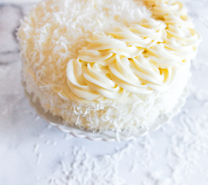 how to make coconut cream cheese frosting