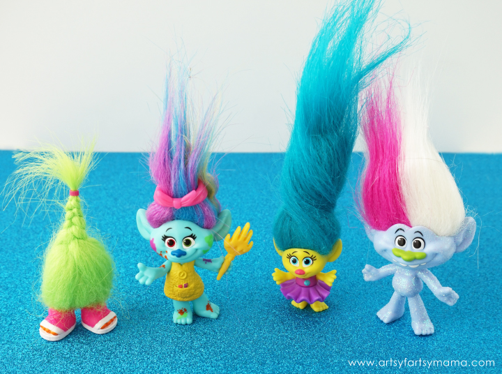 Trolls Gift Guide 2016: DreamWorks Trolls Wild Hair Pack