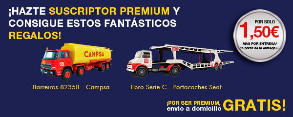 regalos para suscriptores premium coleccion vehículos de reparto y servicio salvat España