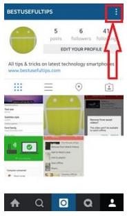Cara mengubah password instagram di Android tanpa pc