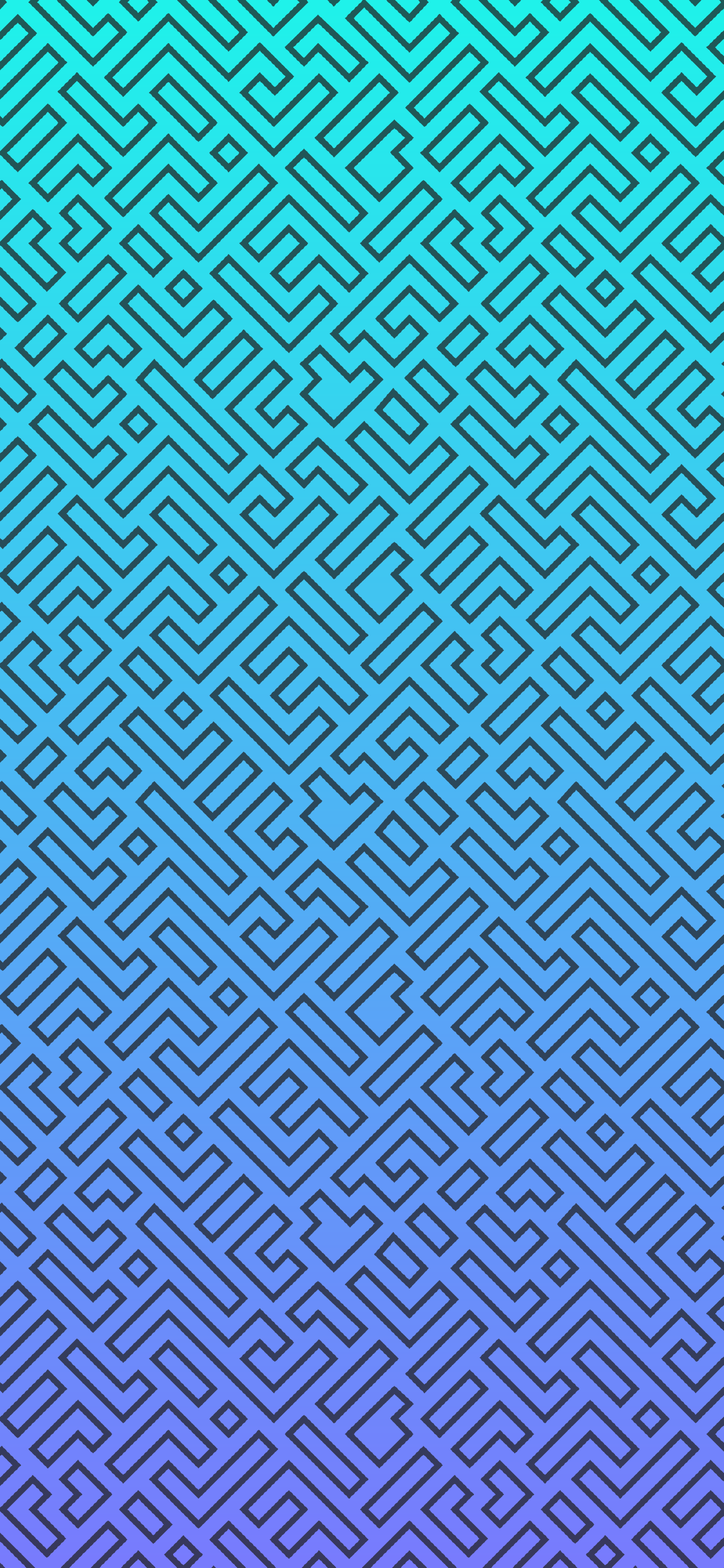 maze gradient lock screen for iphone hd
