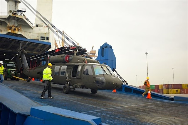 US Army helicopters europe deployment