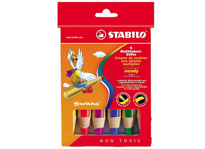 Stabilo Woody Pencil 6-Pack