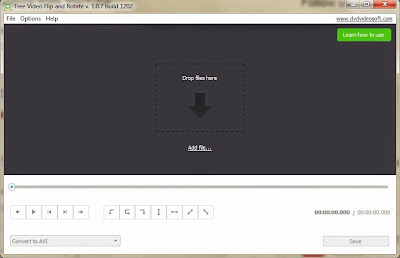 تحميل برنامج تعديل و تدوير الفيديو المقلوب 2018 مع الشرح Free Video Flip and Rotate