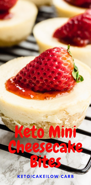 Keto Mini Cheesecake Bites - Quick and Easy Recipe!