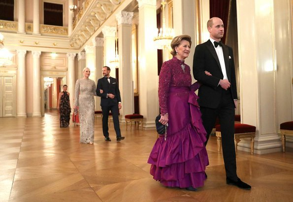 Prince William, Crown Prince Haakon, Crown Princess Mette Marit, Princess Martha Louise, Queen Sonja