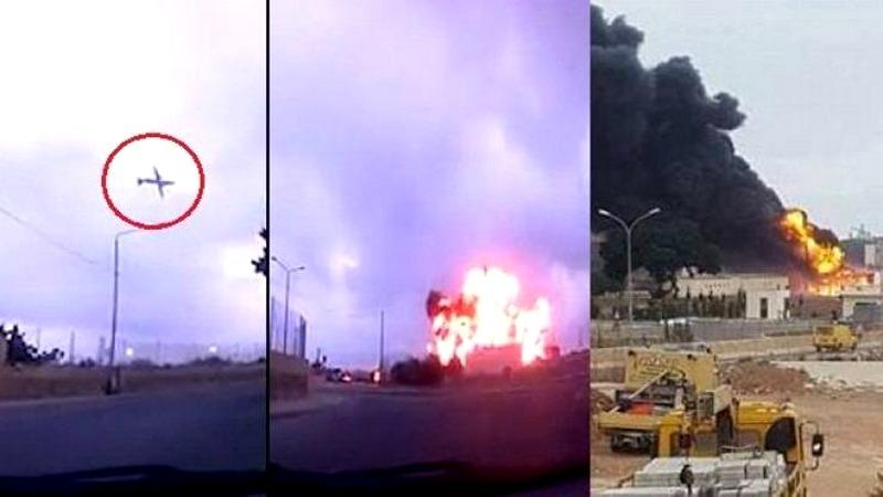 بالفيديو شاهد لحظات 'مرعبة' لتحطم طائرة في مالطا!