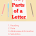 Parts of a Formal Letter (Official Letter )