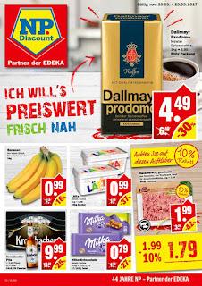 NP Discount Prospekt - Woche 12 - Angebote ab 20. bis 25. Mars 2017