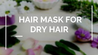 DIY Hair mask for dry hair in winter