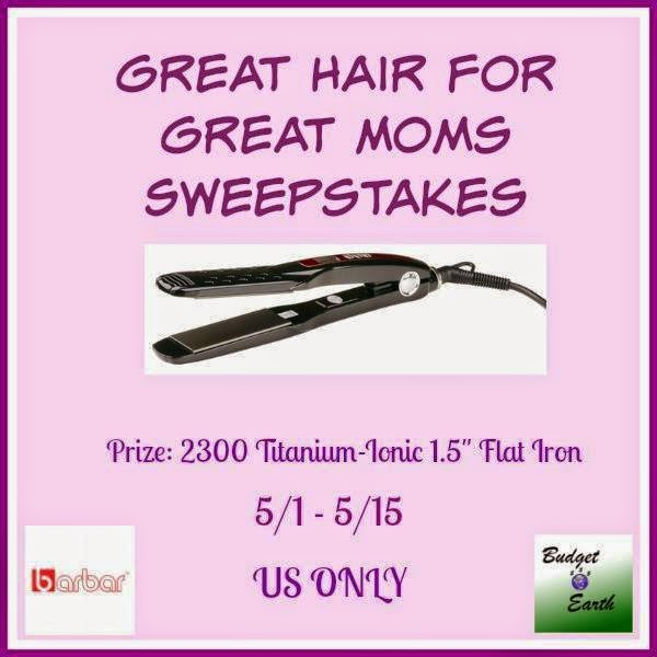 Enter the Great Hair for Great Moms Giveaway. Ends 5/15