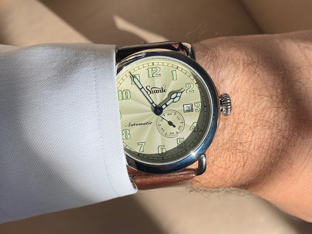 Szanto Automatic Officer Classic Round