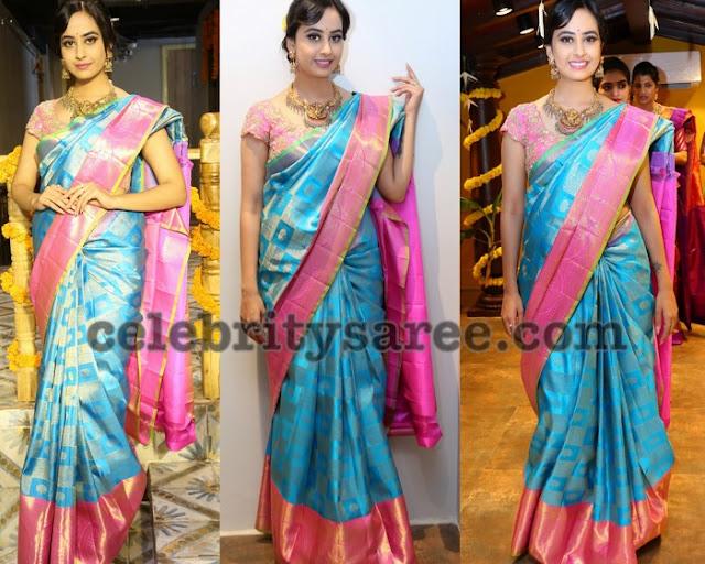 Ameeksha Pawar Mugdha Arts Saree