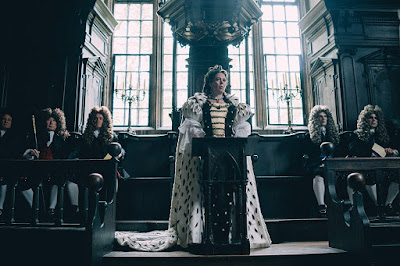 The Favourite 2018 movie still Olivia Coleman