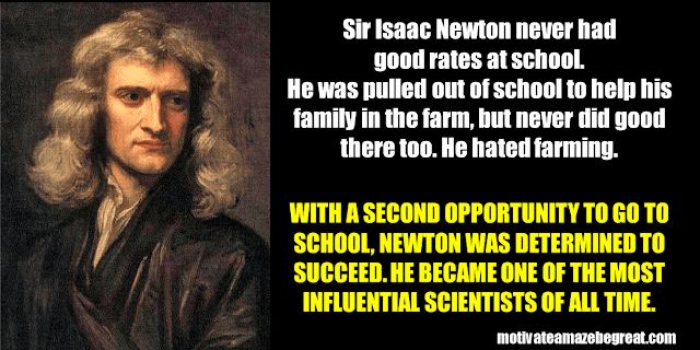Success Stories From Famous People Who Failed Before Succeeding: Isaac Newton