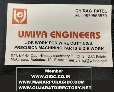 UMIYA ENGINEERS - 9879555570