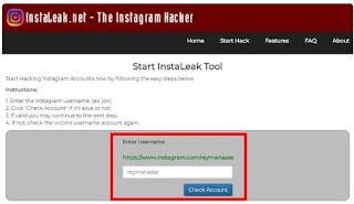 cara mengetahui password instagram yang lupa