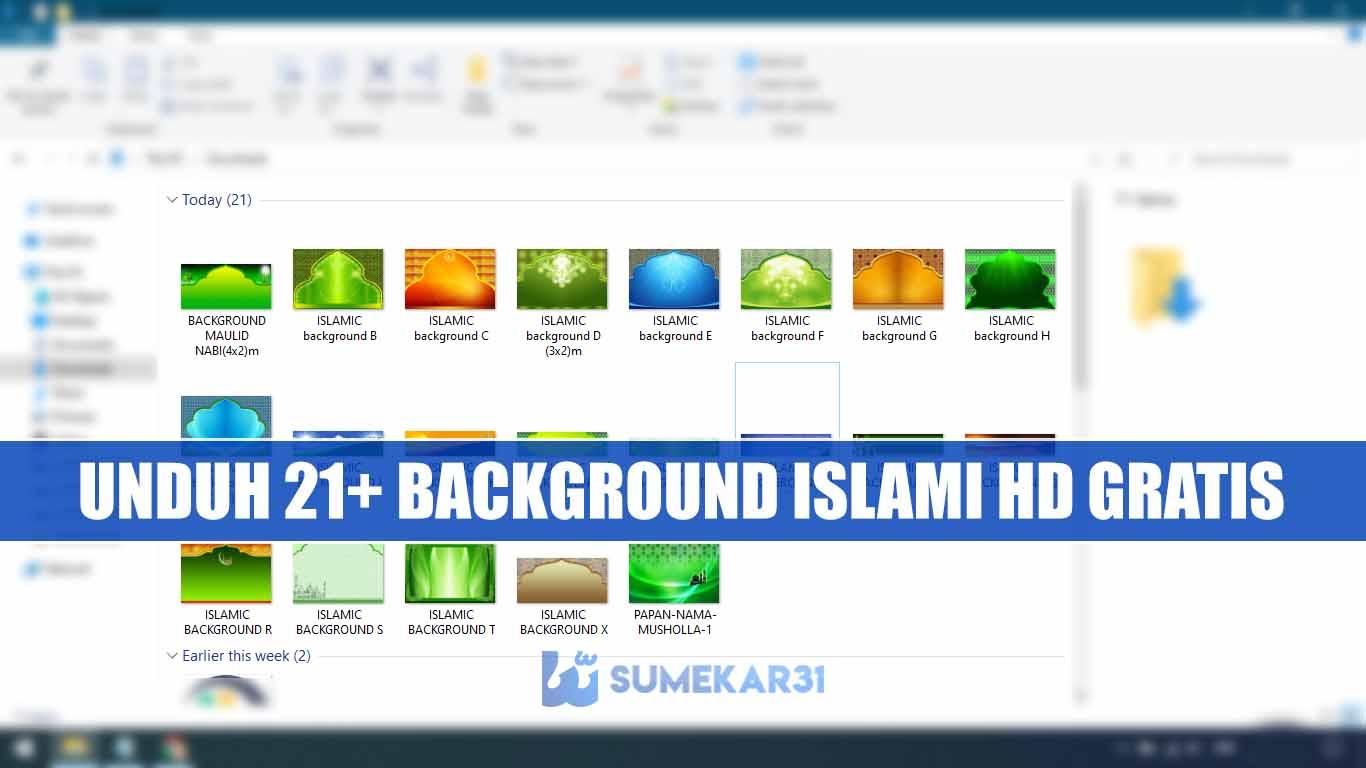 Kumpulan Background Islamic Resolusi HD