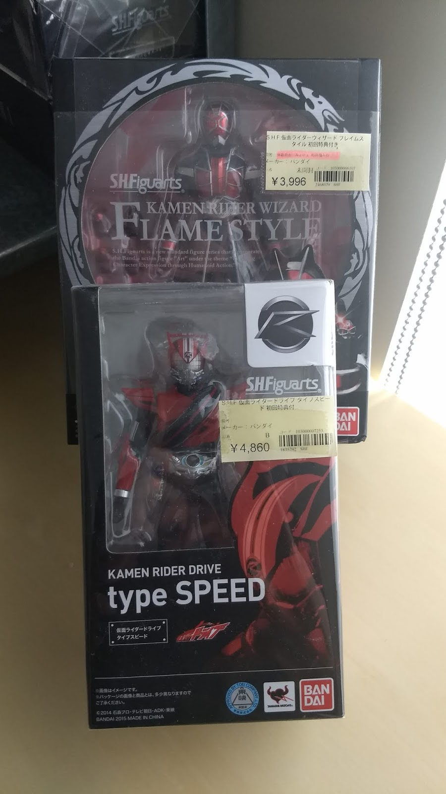 S H Figuarts Collection Revisited - Heisei Rider Figures