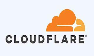 Car menggunakan Cloudflare untuk blog