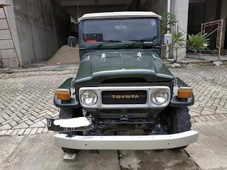 Jual 1974 Toyota Land cruiser