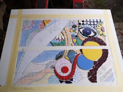 Trittstein Mosaik