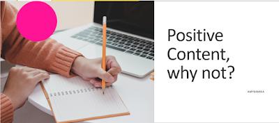 Materi Teh Amy Kamila tentang konten positif