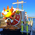 Boarding One Piece's Thousand Sunny Pirate Ship in Gamagori | Japan