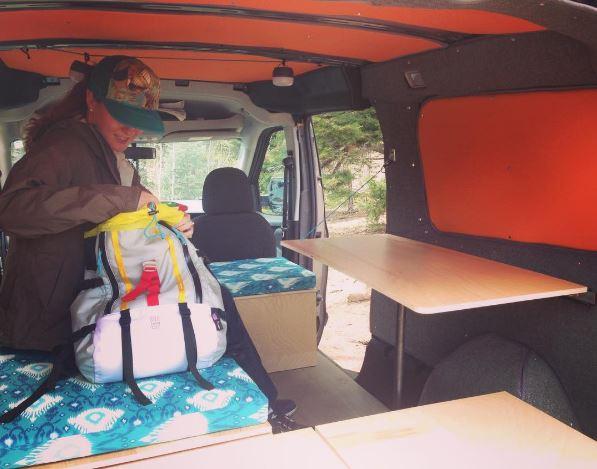 Wayfarer Vans Ram Promaster City Campervan Conversion In