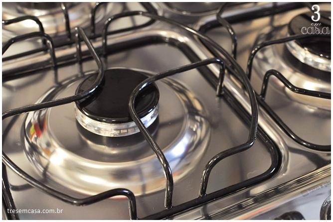 misturinha para limpar fogão como fazer