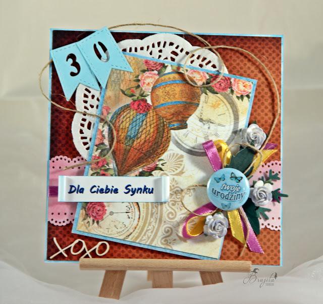 kartka warstwowa, Magiczna kartka inspiracje, Poranna kawa inspiracje, prezent dla mężczyzny, kartka na urodziny dla chłopaka, kartka warstwowa