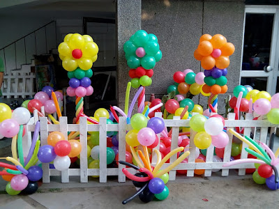 decoration at home for anniversary, balloon decor at home for welcome party