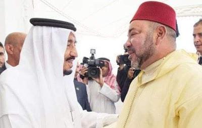 جلالة الملك يتوصل ببرقية تهنئة من خادم الحرمين الشريفين بمناسبة عيد الفطر